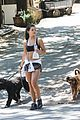 danielle campbell hike with her dogs 43