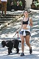 danielle campbell hike with her dogs 45