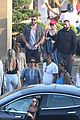 miley cyrus liam hemsworth leave nobu sunday 33