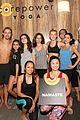 julianne hough long hair derek power yoga class 11