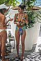 victoria justice colorful swimsuit pool miami 02