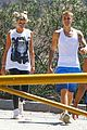 justin bieber sofia richie step out after romatic beach date 36