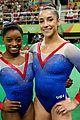simone biles aly raisman gold silver gymnastics floor routine 03