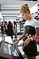 hailey baldwin sephora shop justine skye second bday party 12