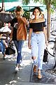 kendall jenner hailey baldwin hit up hollywood pool party 10