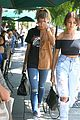 kendall jenner hailey baldwin hit up hollywood pool party 20