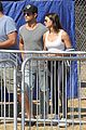 taylor lautner mystery brunette hang out malibu 03
