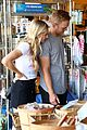 lindsay arnold shopping farmers market husband 18