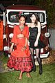 zoey deutch taissa farmiga meet at just jared halloween party 12