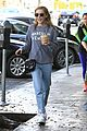 kiernan shipka iced coffee beverly hills 01