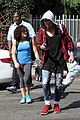laurie hernandez val chmerkovskiy curly hair sunday dwts practice 08