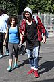 laurie hernandez val chmerkovskiy curly hair sunday dwts practice 12