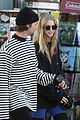patrick schwarzenegger abby lunch cold michigan visit 19