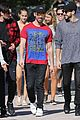 nick jonas meets up with brother joe to continue holiday break shenanigans 14