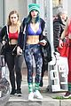 bella thorne workout blue outfit new cat possibly snaps 06