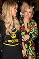 sofia richie paris hilton sit front row at moschino show 05