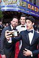 casey cott supports his brother at tony awards ben platt wins best actor 18