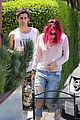 bella thorne grabs lunch with max ehrich 01