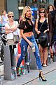 hailey baldwin auditions for victorias secret fashion show in semi sheer crop top 04