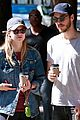 melissa benoist chris wood walk their dogs 04
