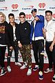 prettymuch poses with pizza cuddles with puppies at iheartradio music festival 01