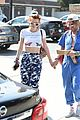 bella thorne and mod sun hold hands while going out for lunch 04