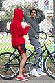 justin bieber selena gomez bike ride together 75