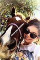 sarah hyland wells adams horseback riding date 07