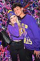 jordyn jones lauren riihimaki boyfriends lakers event game 02