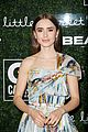 lily collins natural beauty look go gala milo manheim 08