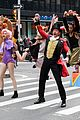 zac efron zendaya and hugh jackman join james corden in epic crosswalk musical 05