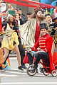 hugh jackman zac efron and zendaya bring greatest showman to streets of nyc 06