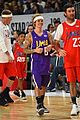 justin bieber nba all star celebrity game 09