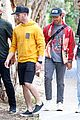 nick jonas meets up with brother joe in australia 38
