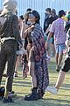 vanessa hudgens goes boho chic in paisley kimono at coachella 09