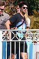 joe jonas and sophie turner get soaked at disneyland 07