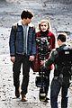 ross lynch kiernan shipka sabrina first pics 03