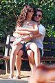 camila cabello and boyfriend matthew hussey share a kiss in barcelona 19