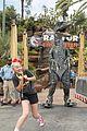 jojo siwa escapes raptor encounter at universal studios hollywood 03