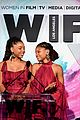 katherine mcnamara francia raisa chloe halle wif awards 20