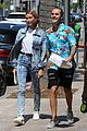 hailey baldwin wears denim outfit to church with justin bieber 32