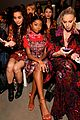 gigi hadid bella hadid and kaia gerber look fab in floral for anna suis nyfw show 05