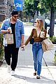 lucy hale blonde again lunch with lo 02