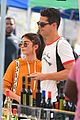 sarah hyland and wells adams share sweet kiss at the farmers market 19
