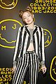 gigi hadid and kaia gerber stun in stripes at marc jacobs madison store opening 10