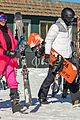kim kardashian kendall jenner hit the slopes aspen 02