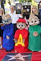 alvin and the chipmunks receive star on walk of fame 03