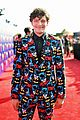 brett dier batman suit haley lu richardson mtv movie tv awards 05