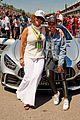 liza koshy becomes first woman to present pirello pole position award at formula 1 11