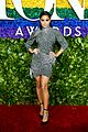 vanessa hudgens sparkles on the red carpet at tony awards 01
